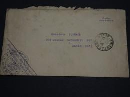 FRANCE - Enveloppe Du 3ème Groupe D'Aviation D'Afrique à Sétif Pour Paris En 1927 - A Voir - L 1494 - Marcophilie (Lettres)