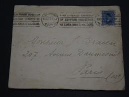 EGYPTE - Enveloppe  Pour Paris En 1928 - A Voir - L 1499 - Egypt
