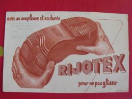 Buvard Chaussure Semelle Rijotex. Vers 1950 - Shoes