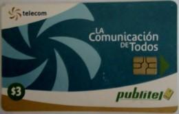 EL SALVADOR - Telecom Logo - Blue , Chip: GEM3.1 , Used - El Salvador