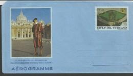 VAT50--  VATICANO,  STORIA POSTALE,  INTERO POSTALE, NUOVO, AEREOGRAMMA, .    1996 - FDC