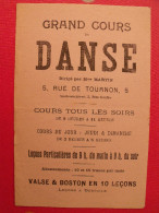 Buvard Grand Cours De Danse. Mme Martin Valse Et Boston. Vers 1930 - Löschblätter, Heftumschläge