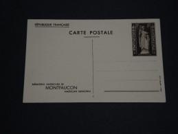 FRANCE - Entier Postal De Montfaucon - A Voir - L 1517