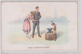 AK - Kunstkarte - Amor Der  Liebesschmied Der Eheringe - 1920 - Hochzeiten