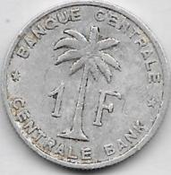 1 Franc Alu 1958 - Congo (Belge) & Ruanda-Urundi
