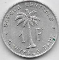 1 Franc Alu 1959 - Congo (Belga) & Ruanda-Urundi