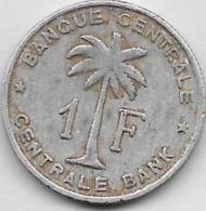 1 Franc Alu 1957 - Congo (Belge) & Ruanda-Urundi