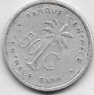 50 Centimes Alu 1955 - Congo (Belge) & Ruanda-Urundi