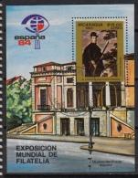 Nicaragua Block 164 (0) – Espana 1984 – Tableau De VELASQUEZ - Nicaragua