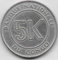 5 MAKUTA 1967 Qualité++++++++++++ - Congo (République 1960)