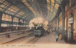 CPA -  Dijon - Le Hall De La Gare - Dijon