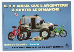 RENAULT KANGOO ÉQUIPÉE PAR DÉCATHLON - VÉLO CROSS - NON CIRCULÉE - ÉDITION CART COM - 2 Scans - - Passenger Cars