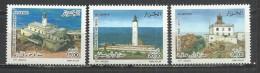ALGERIA 2007 - LIGHTHOUSES - CPL. SET  - MNH MINT NEUF NUEVO - Phares