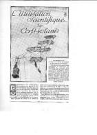 De 1914 - L'UTILISATION SCIENTIQUE DES CERFS-VOLANTS - 5 Pages - - Advertising
