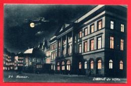 Namur. L' Hôtel De Ville, La Nuit. 1902 - Namur
