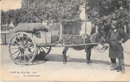 18 - TYPE DU CENTRE - 510 - Un Charbonnier - Attelage ANE - - Esel