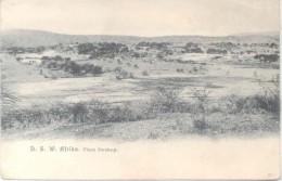 DEUTSCHE SOUTH WEST AFRIKA FLUSS SWAKOP CPA  1900s DOS NON DIVISE PRECURSEUR RARE UNCIRCULATED - Namibië