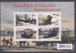 S.P.M. 2016 AMBULANCES ANCIENNES  MNH - St.Pierre & Miquelon