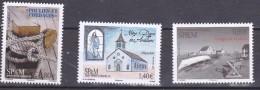 S.P.M. 2016 POULIES EGLISE VESTIGES DE LA PECHE MNH - St.Pierre & Miquelon