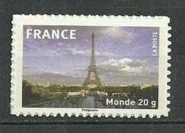 FRANCE MNH ** Adhésif Autocollant 335a La Tour Eiffel Paris - Autoadesivi