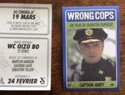 Vignette Autocollante : Wrong Cops, Quentin Dupieux - Captain Andy - Non Classificati