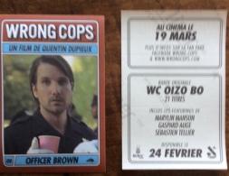 Vignette Autocollante : Wrong Cops, Quentin Dupieux - Officer Brown - Cinemania