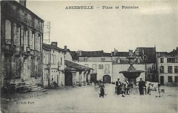 - Depts Div.-ref-KK165 - Meuse - Ancerville - Place Et Fontaine - Fontaines - Gendarmerie - Gendarmeries - - Frankrijk