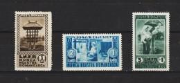 1934  EXPO. Des Travaux En Zone Rurale Mi No 465/467 Et Yv No 468/470 MNH - Ungebraucht