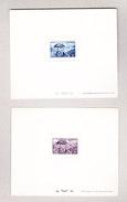 Franz. Andorra 1945/48 Lot Von 8 Verschiedene Epreuves De Luxe Mi#112, 113, 120, 121, 124, 127, 132 Und 135 - Andorre Français