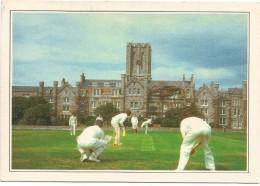 R2306 Inghilterra - Castletown - Cricket - Cartolina Con Legenda Descrittiva - Edizioni De Agostini - Europe