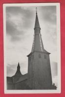 Ciney ... Dit Non !!! - Banderole Sur Le Clocher De L'Eglise - Carte Photo ( Voir Verso ) - Ciney