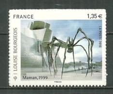 "FRANCE MNH ** Adhésif Autocollant 471 (4492) Louise Bourgeois Sculptrice ""maman"" Araignée Géante - France"
