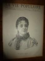 1889 LVP : Portrait De Mlle REJANE De L'Opéra;Au Château De Crespy-en-Blaisois; Mes LUNDIS En Prison (G. Macé) ; Etc - Riviste - Ante 1900