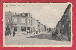Micheroux - Rue De La Clef - Carte Animée, Café Patria  ( Voir Verso ) - Soumagne