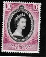 Malaya Perak Coronation - Territoire Britannique De L'Océan Indien