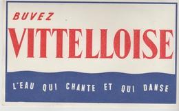 BUVARD BOISSON EAU - VITTELLOISE - Limonades