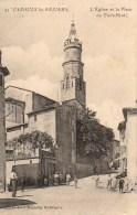 34 CAZOULS-les-BEZIERS  L'Eglise Et La Place Du Tiers Etat - France