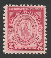 United States, 2 C. 1930, Sc # 682, Mi # 324, MNH - Stati Uniti