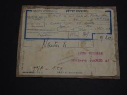 FRANCE - Colis Postal De Lyon En 1968 Pour Vertou - A Voir - L 1560