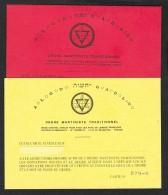 2 Cartes De Membre  De L'ORDRE MARTINISTE TRADITIONNEL - Maps