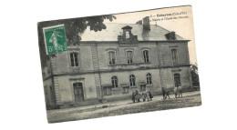 ESBARRES ... LA MAIRIE ET L ECOLE DES GARCONS - France