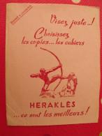 Buvard Cahiers Heraklès Bourdelle. Vers 1930 - Stationeries (flat Articles)