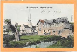 27 HONDOUVILLE. L'Eglise Et Le Moulin - France