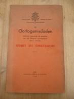 De Oorlogsmisdaden Vinkt En Omstreken Mei 1940 178 Pag Goede Staat Beetje Verkleurd Meigem Deinze - Guerra 1939-45