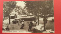 88 VOSGES MARTIGNY-LES-BAINS, Vue Du Parc De L'Etablissement, Animée, (L. L., SELECTA) - France