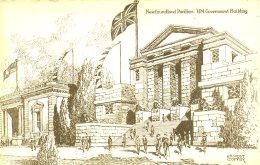 EXHIBITION - 1924/5 - NEWFOUNDLAND PAVILION By ERNEST COFFIN Ex3 - Exhibitions