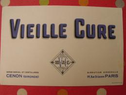 Buvard Vieille Cure Cénon Gironde. Vers 1950 - Alimentaire
