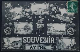SOUVENIR   AYTRE. 1912.recto/verso. - Francia