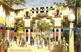 EXHIBITION - 1924/5 - ENTRANCE TO THE AMUSEMENT PARK - PHOTOCHROM  Ex12 - Exhibitions