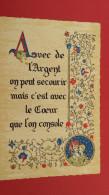 Avec De L'Argent On Peut Secourir, Mais C'est Avec Le Coeur Que L'on Console, (Roussel) - Fiabe, Racconti Popolari & Leggende